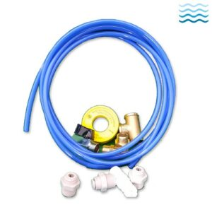 Installation kit for filters