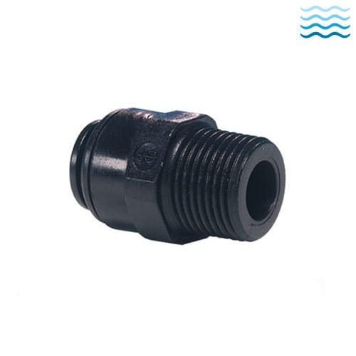 black PM series acetal resin fittings
