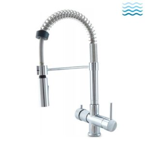 Faucets for water treatment systems